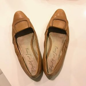 Elizabeth and James Shoes - Elizabeth and James Leather Ballet Flats